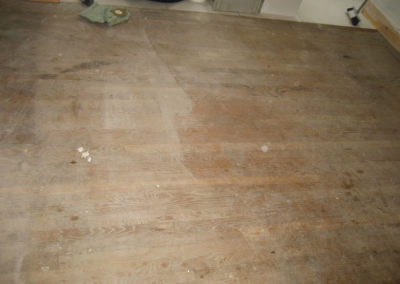 Strip Battan Oak Before Restoration
