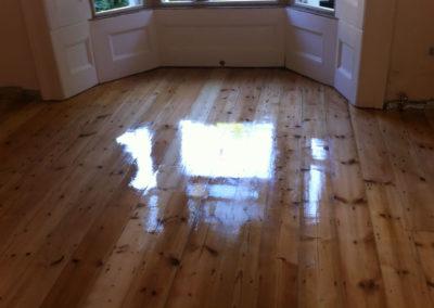 After - hardwood floor in top condition