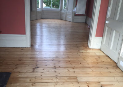 Contemporary finished flooring